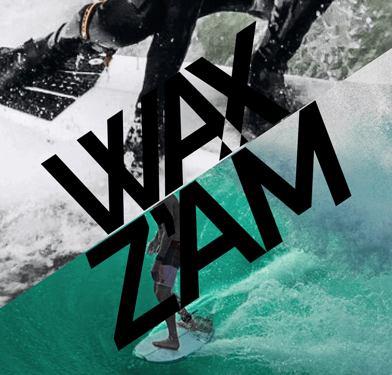 waxzam surfwachs surfwax logo